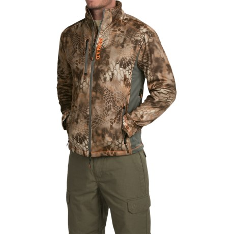 NOMAD Mergence Soft Shell Fleece Camo Jacket (For Men)