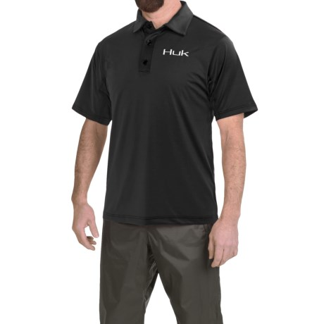 Huk High-Performance Polo Shirt - Short Sleeve (For Men)