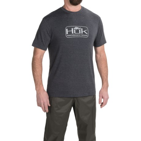 Huk Redfish Logo T-Shirt -Short Sleeve (For Men)