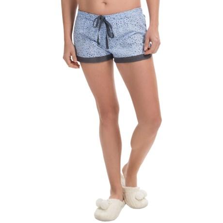 PJ Salvage Jersey Lounge Shorts - Drawstring (For Women)