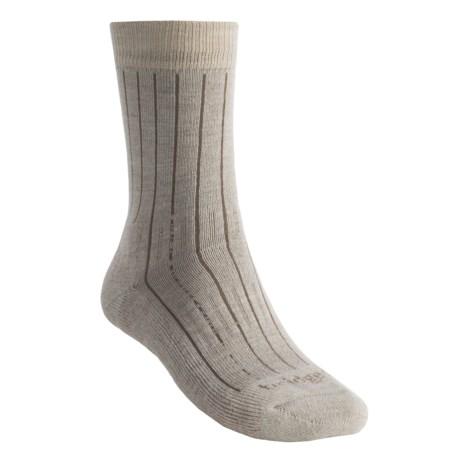 Bridgedale Premium CoolMax® Weekend Socks - Lightweight, Merino Wool, Mid-Calf (For Men and Women)