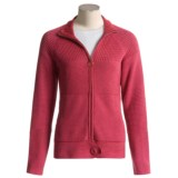 Pulp Shaker Zip Sweater Jacket (For Women)