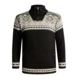 Icewear Bergen Zip Neck Pullover Sweater - Lined (For Men)