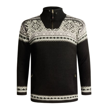 Icewear Bergen Zip Neck Pullover Sweater - Lined (For Men)