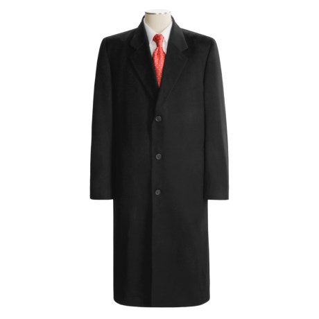 Hart, Schaffner & Marx Full-Length Overcoat - Wool-Cashmere (For Men)