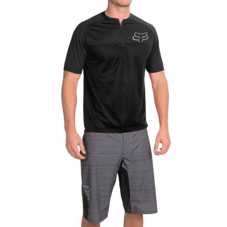 Fox Racing Ranger Cycling Jersey - Zip Neck, Short Sleeve (For Men)