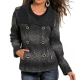 Powder River Outfitters Herringbone Double-Breasted Jacket (For Women)