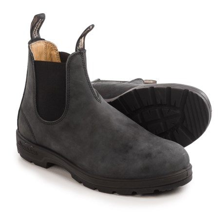 Blundstone 587 Pull-On Boots - Leather, Factory 2nds (For Men and Women)