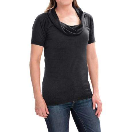 Arc'teryx A2B Shirt - Cowl Neck, Short Sleeve (For Women)