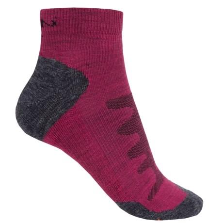 Keen Olympus Lite Socks - Merino Wool, Quarter Crew (For Women)