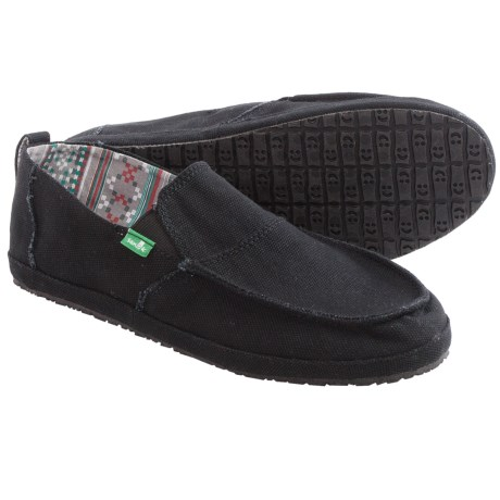 Sanuk Commodore Canvas Shoes - Slip-Ons (For Men)