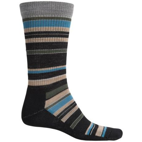 Point6 Stax Light Socks - Merino Wool, Crew (For Men and Women)