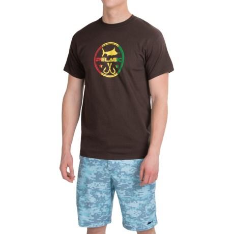 Pelagic Double Hook Up T-Shirt - Short Sleeve (For Men)