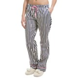 Jane and Bleecker Printed Lounge Pants - Cotton Sateen (For Women)