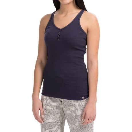 Jane and Bleecker Scalloped Tank Top (For Women)