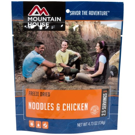 Mountain House Noodles and Chicken - 2.5 Servings