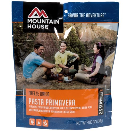 Mountain House Pasta Primavera - 2.5 Servings