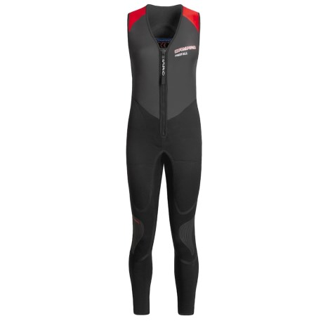 Camaro FJ Freefall Seamless Kayaking Wetsuit - 3mm (For Women)