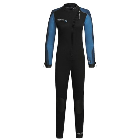 Camaro Mantaray Diving Wetsuit - 5mm (For Women)