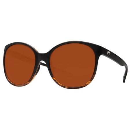 Costa Goby Sunglasses - Polarized CR-39® Lenses (For Women)