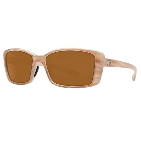 Costa Pluma Sunglasses - Polarized 400P Lenses (For Women)