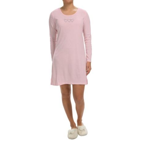 Jockey Blizzard Bouquet Pajama Shirt - Long Sleeve (For Women)