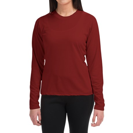 Wickers High-Performance T-Shirt - Long Sleeve (For Women)
