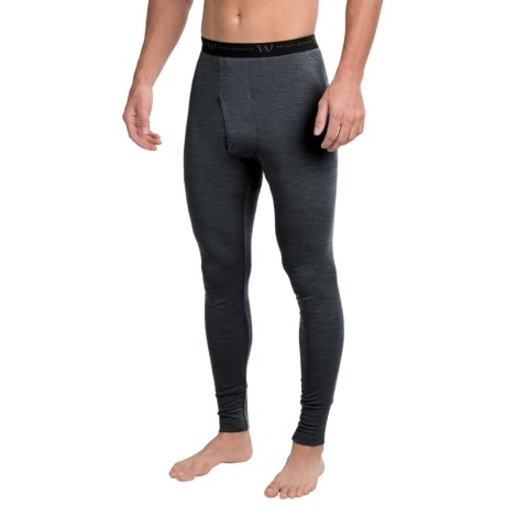 Wickers Visco Base Layer Bottoms - Merino Wool Blend (For Men)