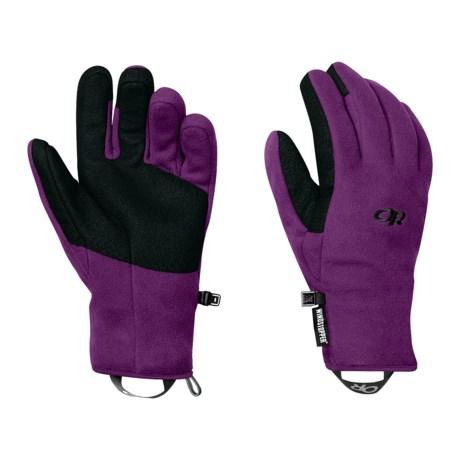 Outdoor Research Gripper Gloves - Windstopper® (For Women)