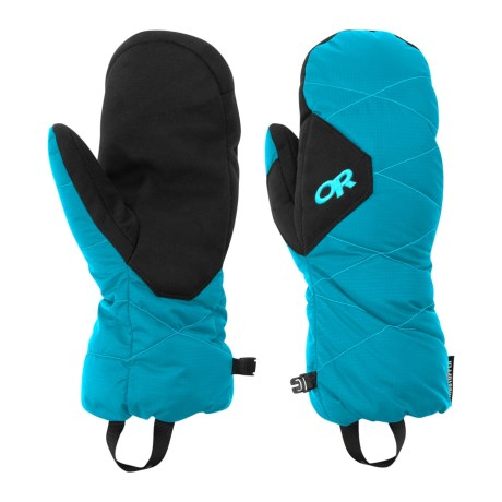Outdoor Research Phosphor Windstopper® Down Mittens - 650 Fill Power (For Men)