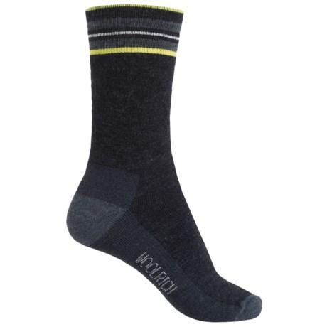 Woolrich Tipped Stripe Socks - Merino Wool, Crew (For Women)