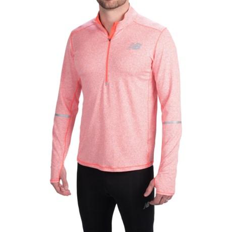 New Balance Beacon Pullover - Zip Neck, Long Sleeve (For Men)