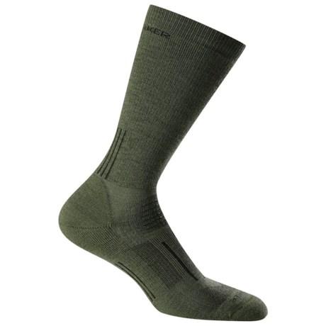 Icebreaker Hike Medium Socks - Merino Wool, Crew (For Men)