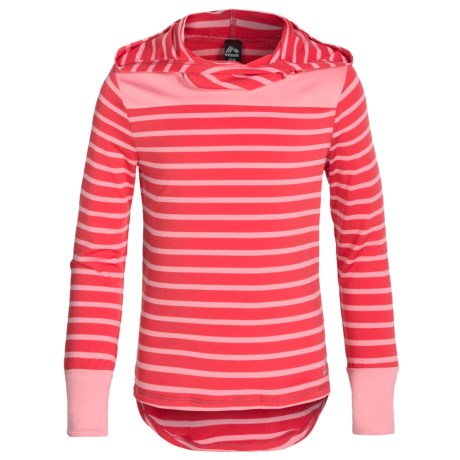 RBX High-Performance Hoodie Shirt - Long Sleeve (For Little and Big Girls)