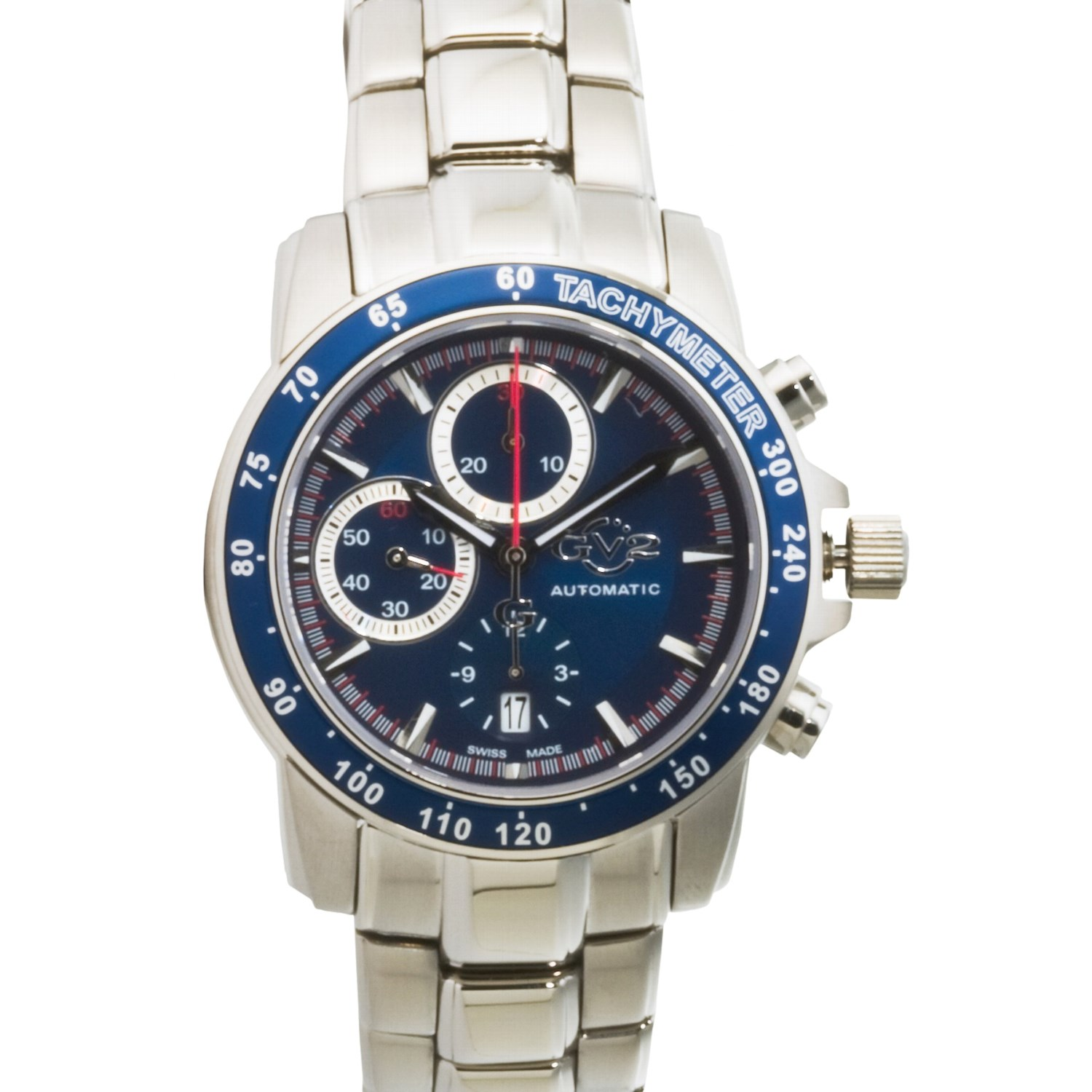 Gevril gv2 explorer automatic chronograph watch 1171f save 69 for Gevril watches