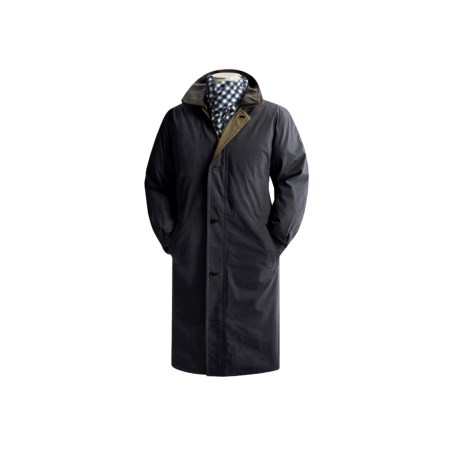 Rainforest microfiber hooded parka