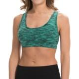 90 Degree by Reflex Ladder-Back Sports Bra - High Impact (For Women)