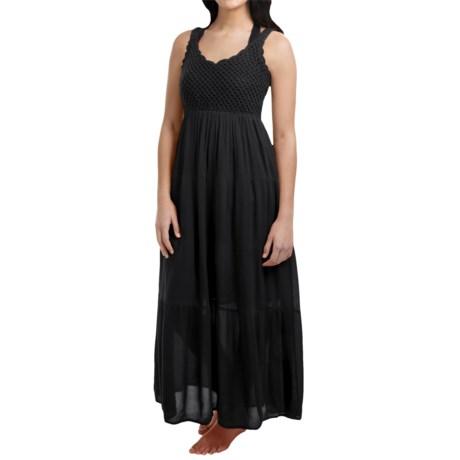 Studio West Crochet Bodice Maxi Dress - Sleeveless (For Women)
