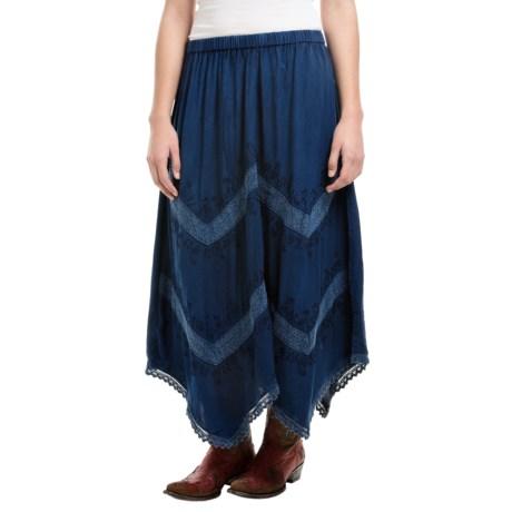 Studio West Hanky Hem Skirt (For Women)