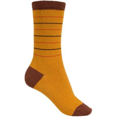 Falke Cozy Stripes Socks - Wool-Cashmere, Crew (For Women)