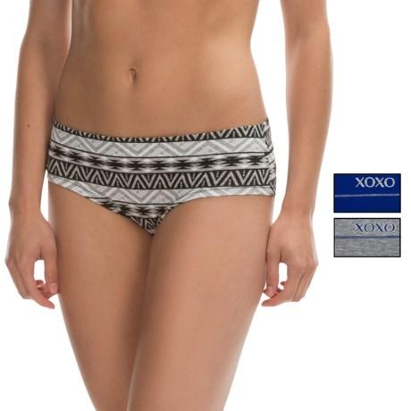 XOXO Gripped Panties - Bikini, 3-Pack (For Women)