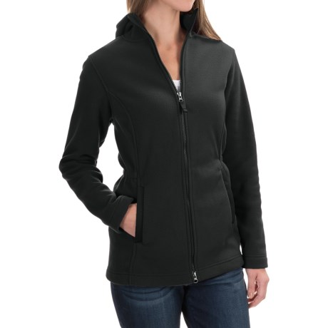 Hooded Fleece Parka (For Women)