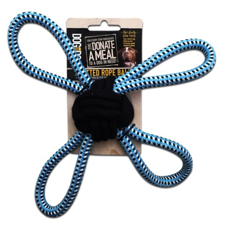 Dog For Dog Knotted Rope Ball Dog Toy
