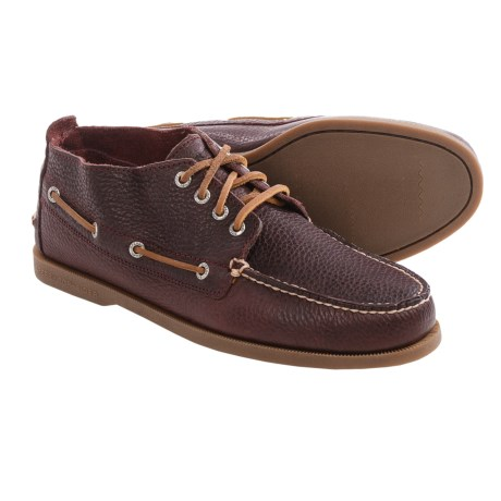 Sperry Authentic Original Tumbled Chukka Boots - Leather (For Men)