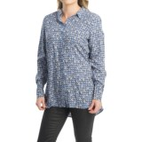 FDJ French Dressing Geo Oval Print Blouse - Long Sleeve (For Women)