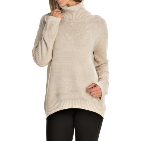 FDJ French Dressing Boxy Cowl Neck Sweater (For Women)