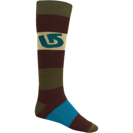 Burton Tailgate Snowboard Socks - Midweight, Over the Calf (For Men)