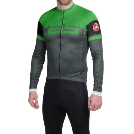 Castelli Unavolta Cycling Jersey - Full Zip, Long Sleeve (For Men)