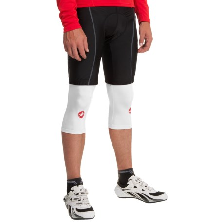 Castelli Lycra® Cycling Knee Warmers (For Men)