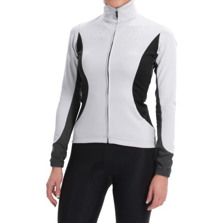 Castelli Trasparente 2 Windstopper® Cycling Jersey - Full Zip, Long Sleeve (For Women)